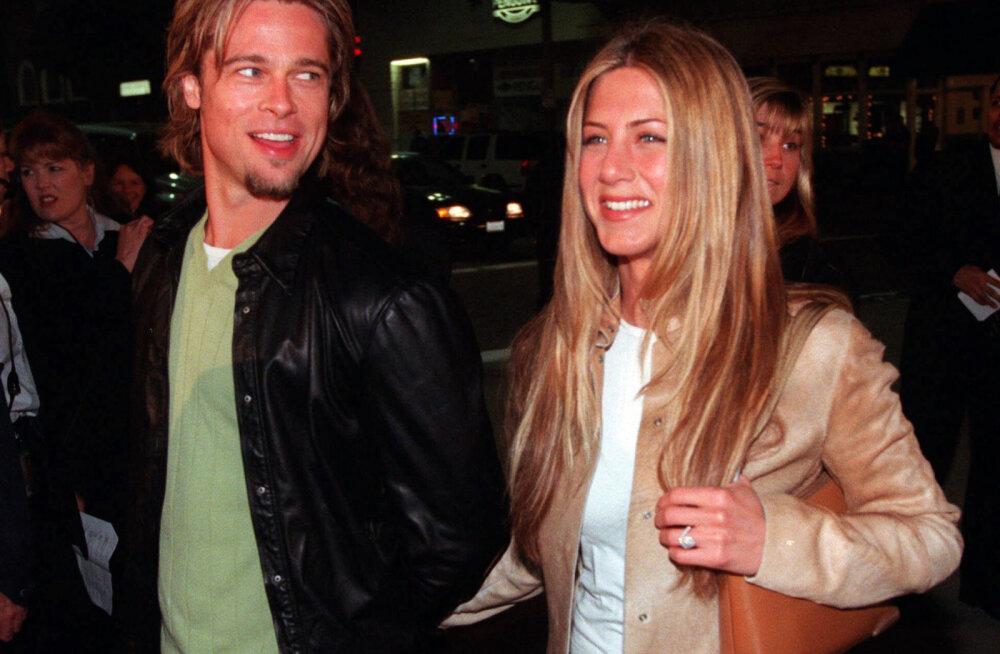 Kõige taga on George Clooney! Brad Pittile ja Jennifer Anistonile korraldati salajane kohtumine
