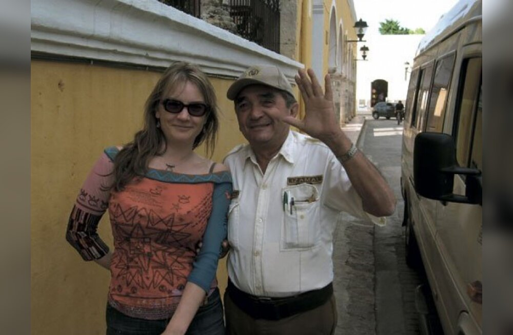 Reet Roos Mehhiko röövlite küüsis
