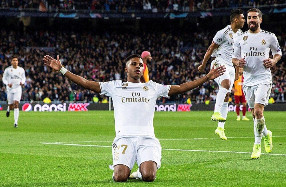 Mullu Santosest 45 miljoni euro eest ostetud Rodrygo tõusis Reali publiku lemmikuks.