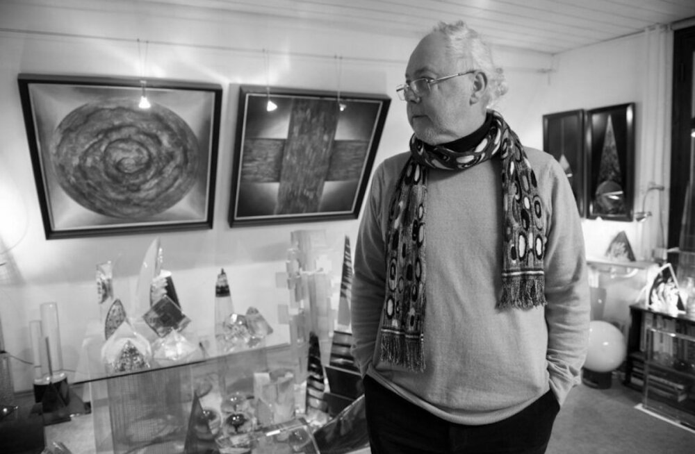 Lahkus armastatud Eesti klaasikunstnik Ivo Lill
