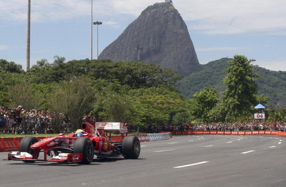 Vormel 1 Brasiilia GP tahetakse viia olümpialinna Riosse