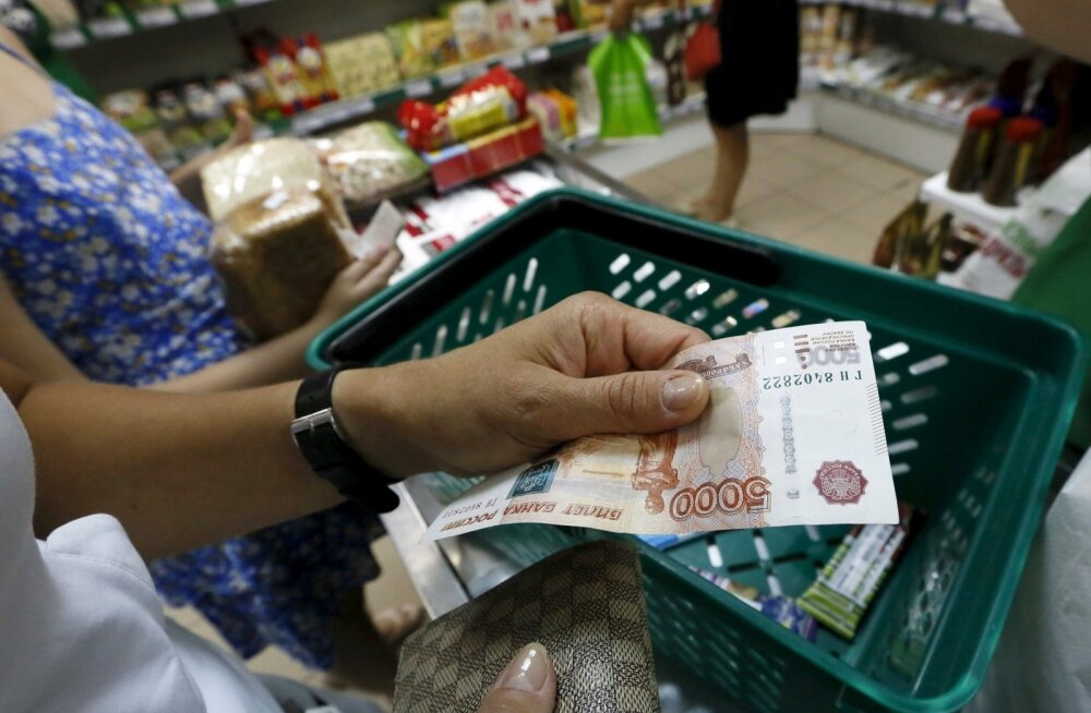 Venemaalased on kulutusi toidule vähendanud.