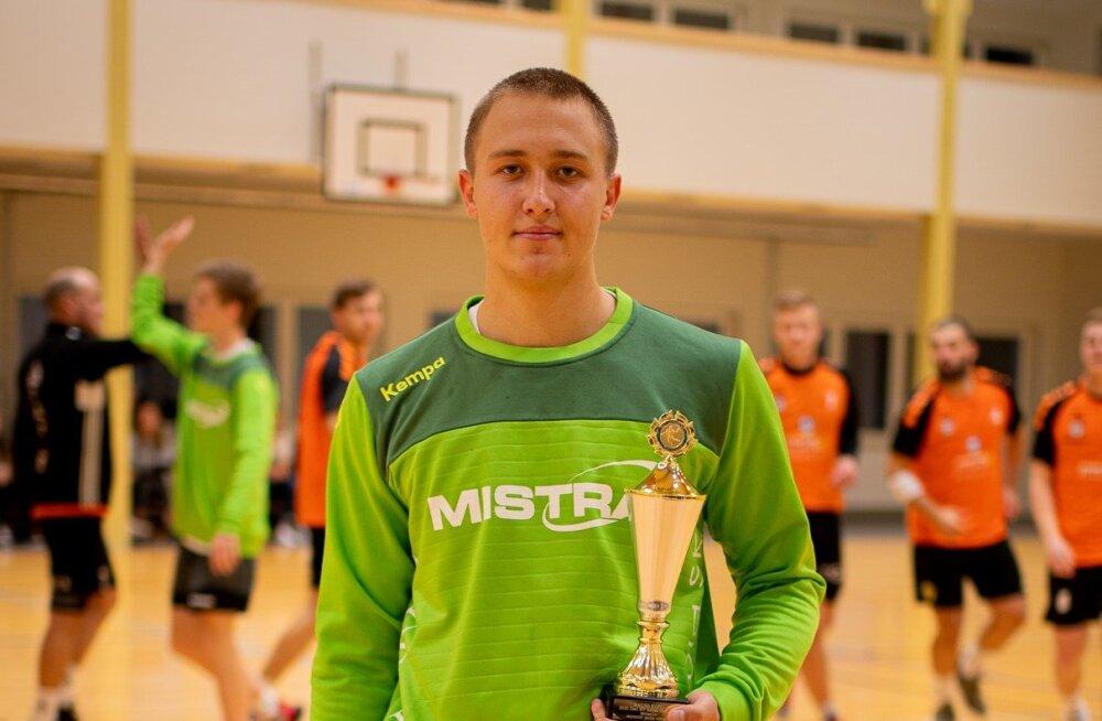 Üllatusvalik käsipallis: meistriliiga kuu parimaks valiti mängija, kes tunnistas tiimiga vaid kaotusi