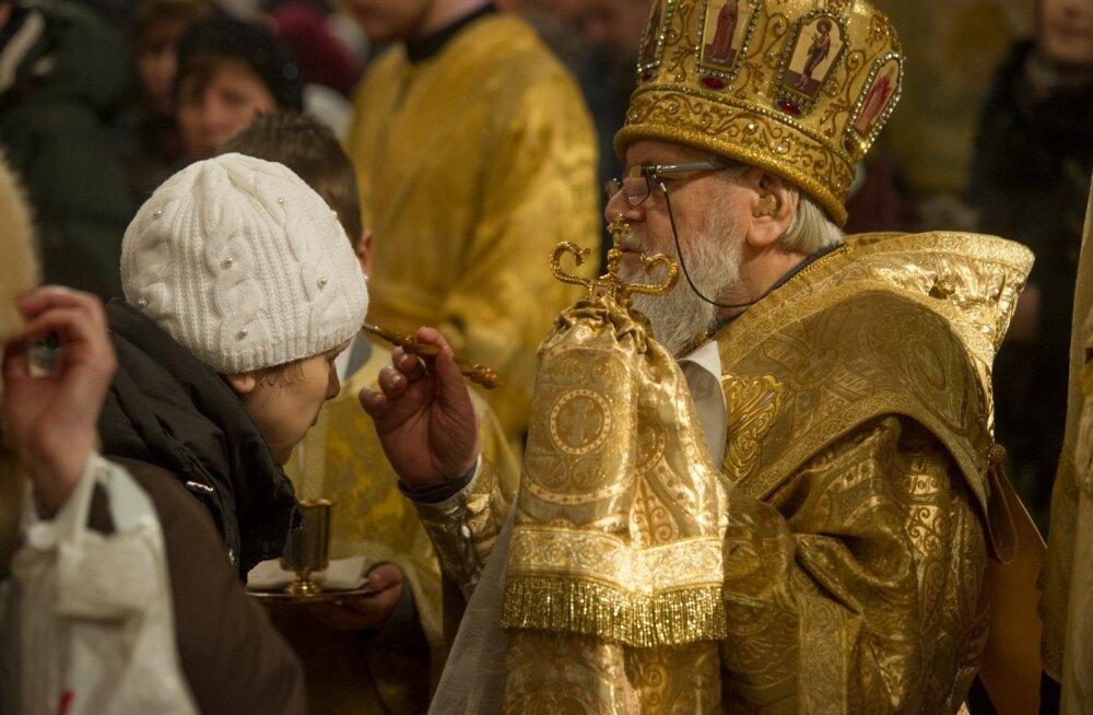 Metropoliit Kornelius.Õigeusu jõulud.Nevski katedraal