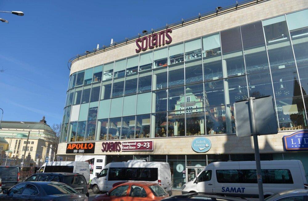 Перестройка в центре Solaris: с сегодняшнего дня закрыты Hesburger, Vapiano и Lido