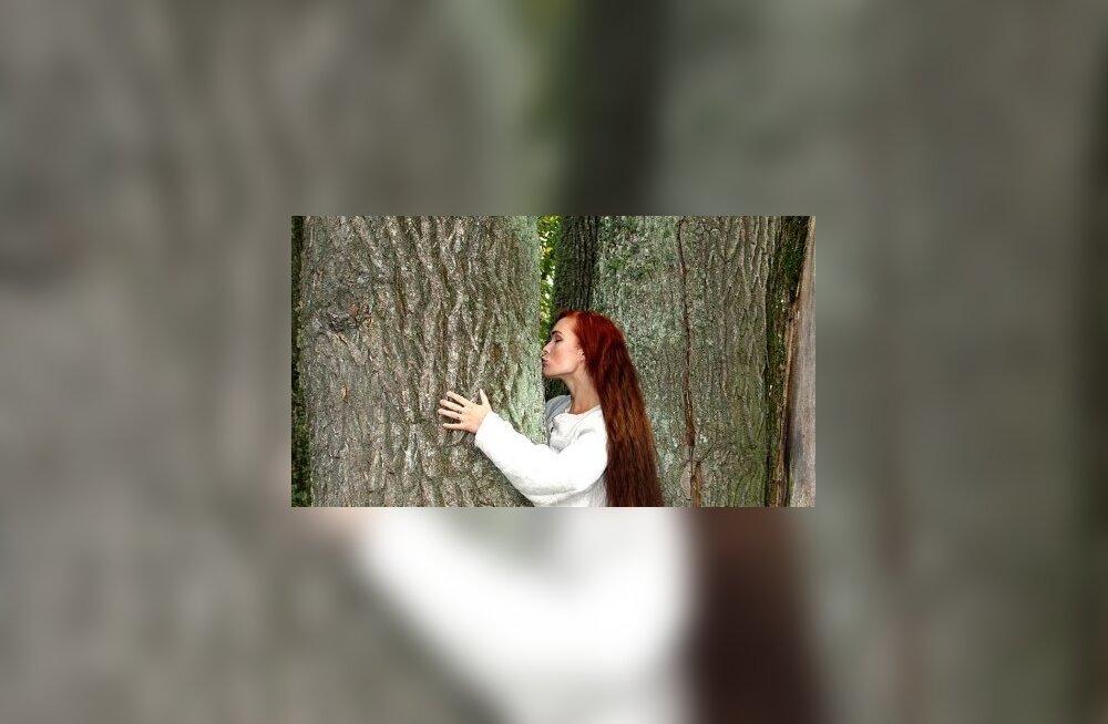 Paljud eestlased suhtlevad puuga