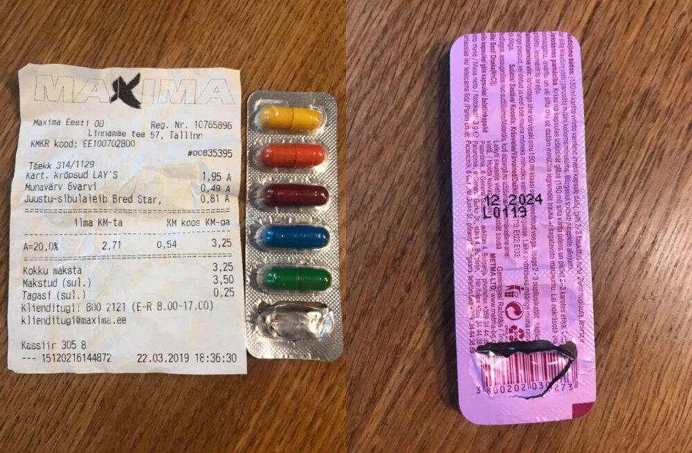 Инцидент в Maxima: ребенок по ошибке купил краску для яиц и съел — продавец сказал, что это конфеты