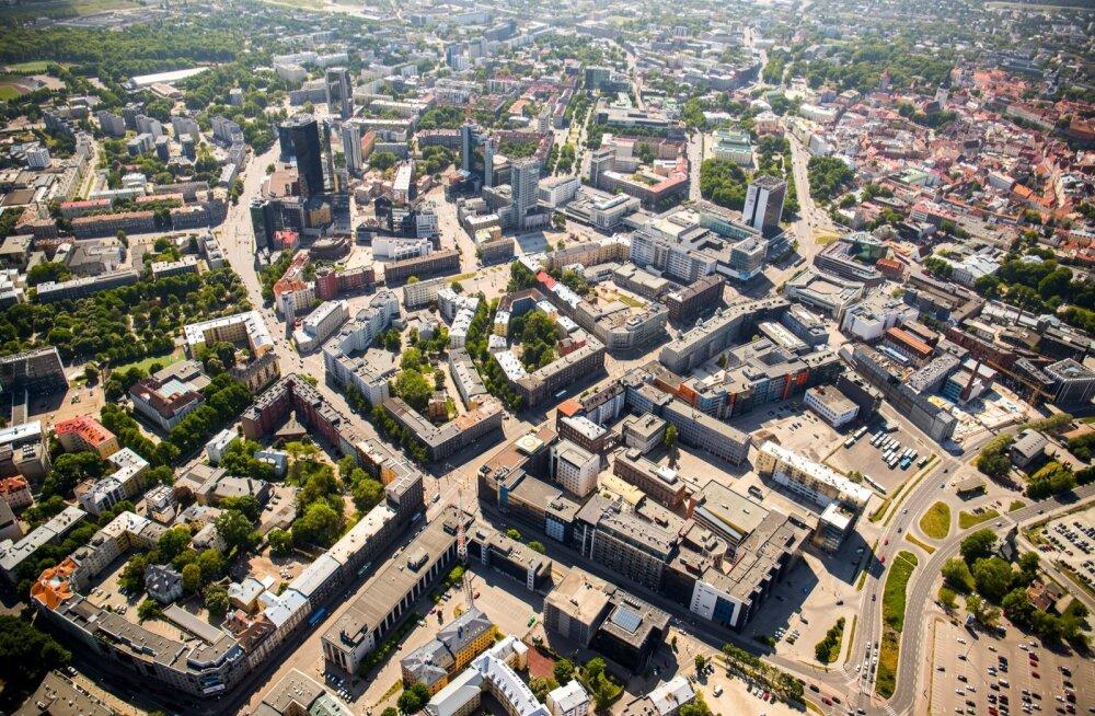 Tallinna südalinna kontoripinnad on suures hinnas