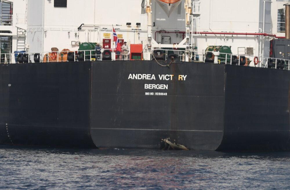 """Rahvusvaheline juurdlus: tankerite ründamise taga Ühendemiraatide juures on """"riiklik tegija"""""""