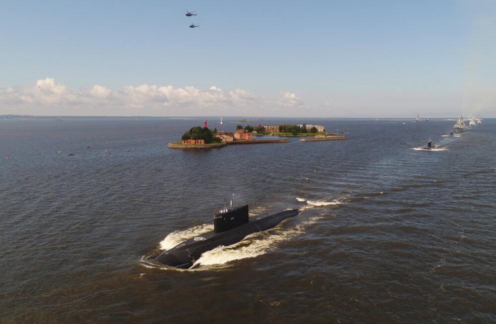 TASS: Venemaa kavandab Balti laevastikku uusi allveelaevu tiibrakettidega Kalibr