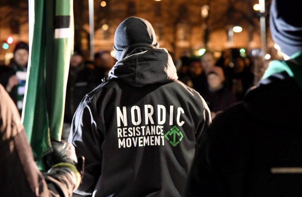 Helsingi politsei keelas neonatside liikumise iseseisvuspäevarongkäigu