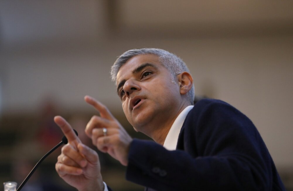 Äärmusgrupp tahtis Londoni meeri Sadiq Khani kinni võtta