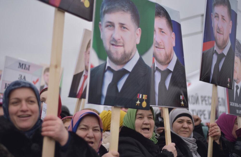 Брутальный флешмоб: кто из российских звезд поддержал Кадырова