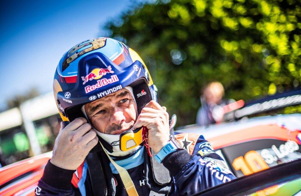Sebastien Loeb oli Itaalia rallil kindlalt parim
