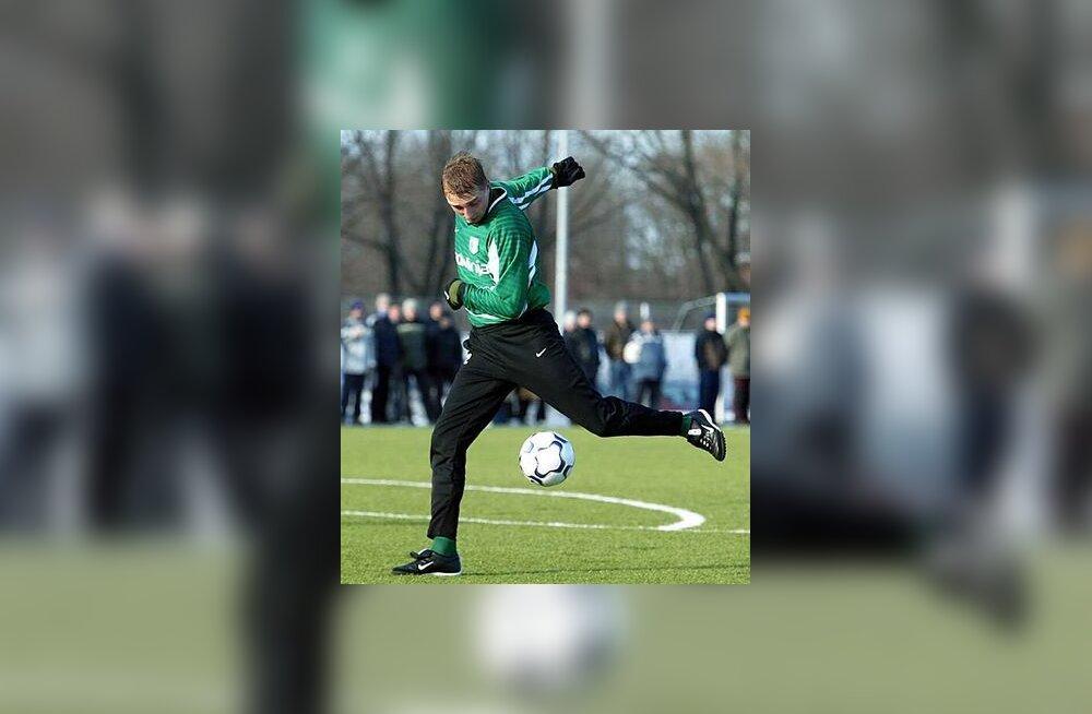 FC Flora ründaja Vjatsheslav Zahovaiko
