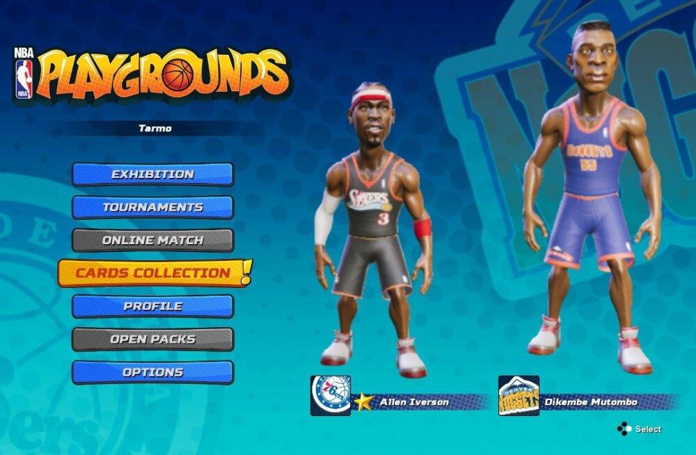 M Kuubis vaatleb videomängu: NBA Playgrounds (Switch) – altminekuga pealtpanekud