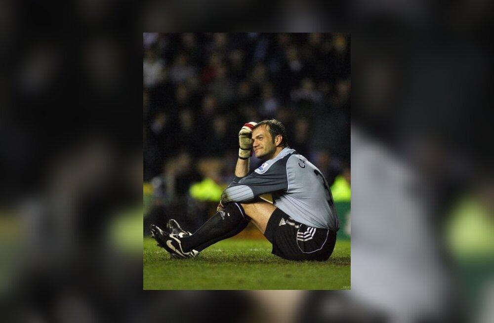 Derby County väravavaht Roy Carroll