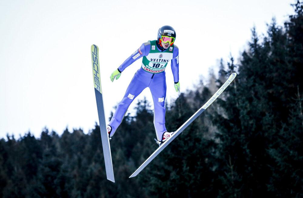 Piho ja Ilves Val di Fiemmes hüpete järel 12. kohal