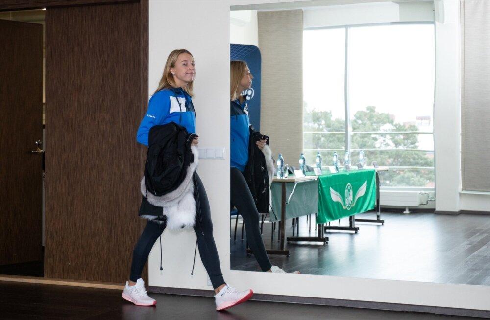 Fed Cupi tennisenaiskonna pressikonverents