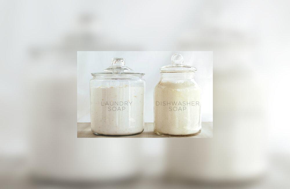 Ise tehtud pesuvahend on keskkonnasõbralik ja sobib ka tundlikule nahale