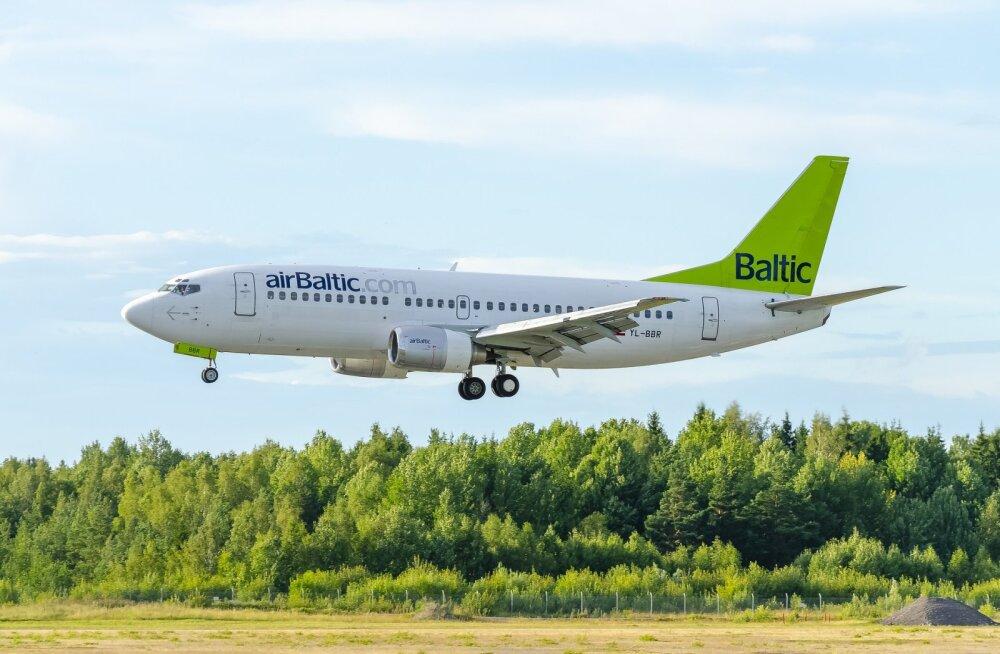 Air Baltic annab teada: 18. maist taastuvad lennud Tallinnast neljal suunal