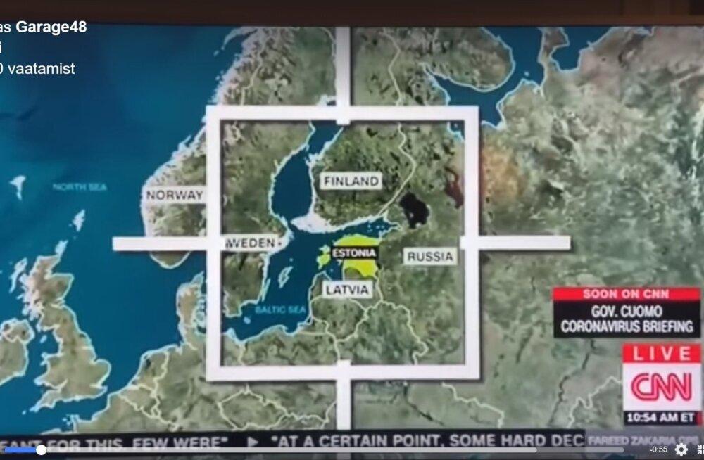 Eesti CNN-i ekraanil