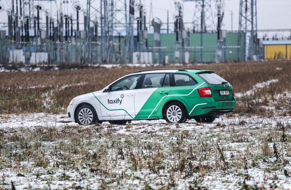 """Varsti aasta Taxify CNG-autode kampaaniast: kuidas """"rohesabadel"""" läheb?"""