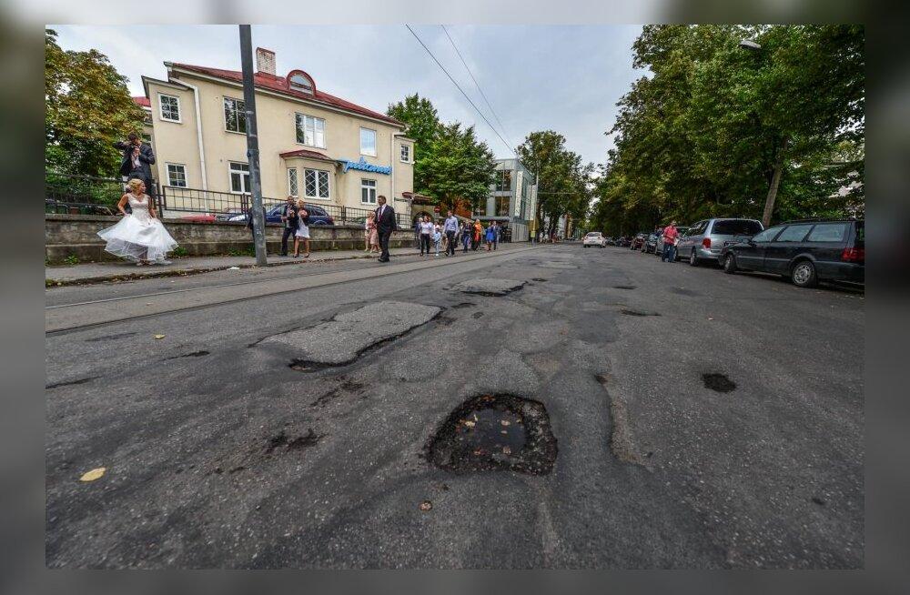 Tallinna esindustänaval on liikluskorralduse muudatus