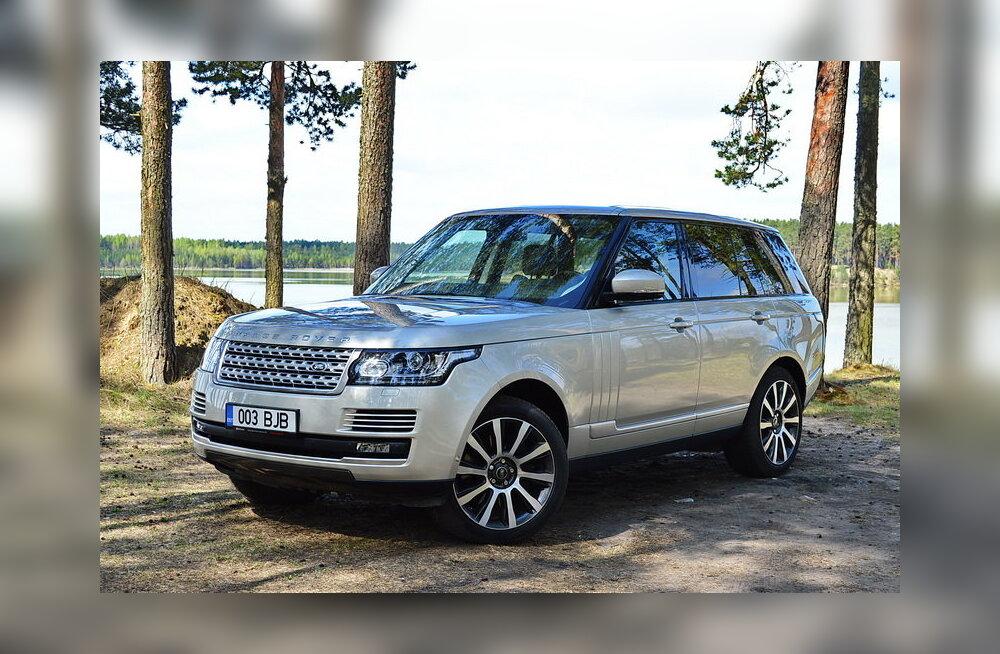 Range Rover: Aasta kaalujälgija?