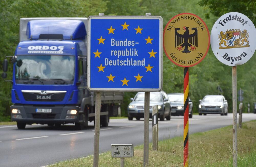 Германия сняла вызванный пандемией погранконтроль