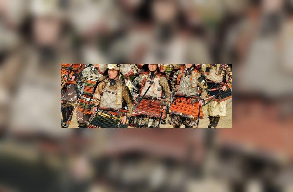 Kokkupõrganud jaapanlased pidasid samuraiduelli