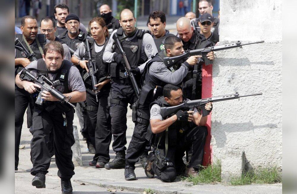 Brasiilia politseil õnnestus Rio narkosõjas kontroll saavutada