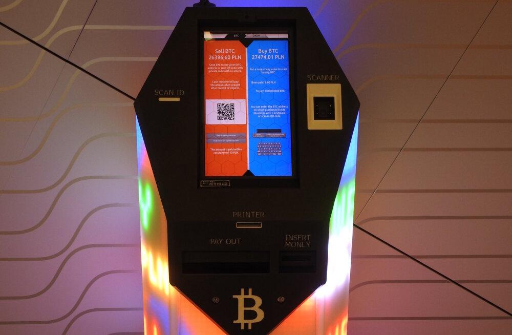 Kes küll kasutavad 5000 maailmas leiduvat krüpto-sularahaautomaati?