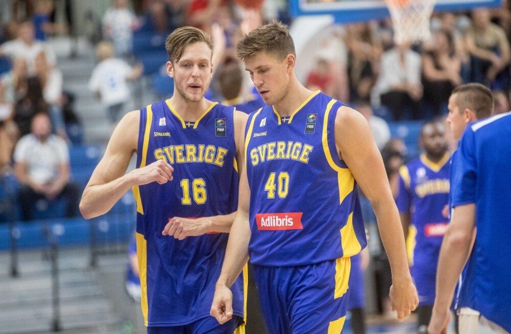 Korvpall Eesti vs Rootsi