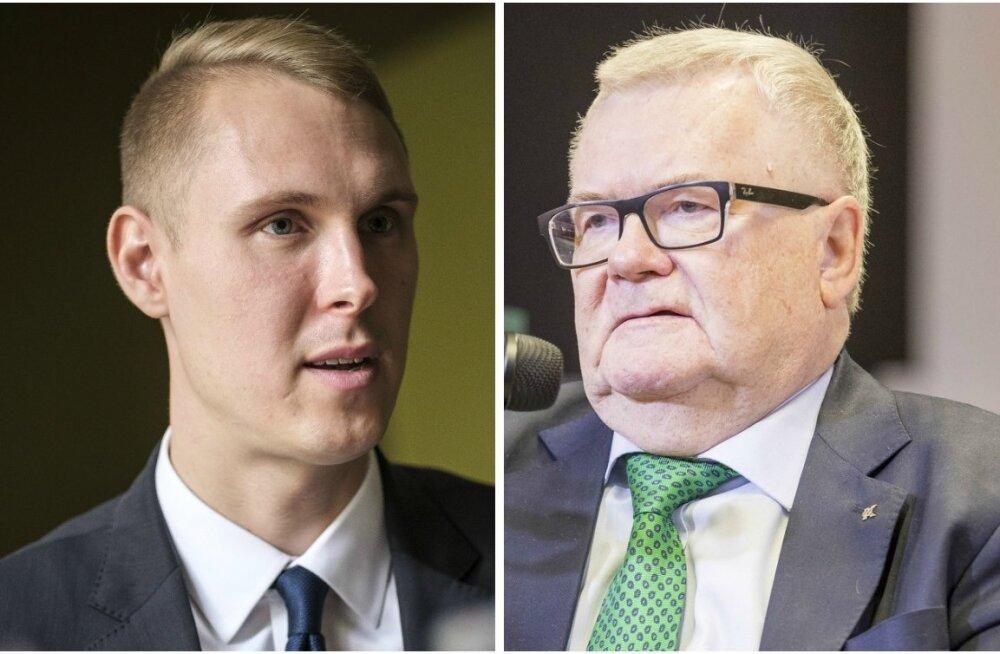 Raimond Kaljulaid ja Edgar Savisaar