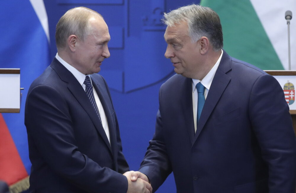 Kreml: Putinile meeldib Ungari peaministri Orbáni tarkus, pragmaatilisus, kogemus ja suveräänsus