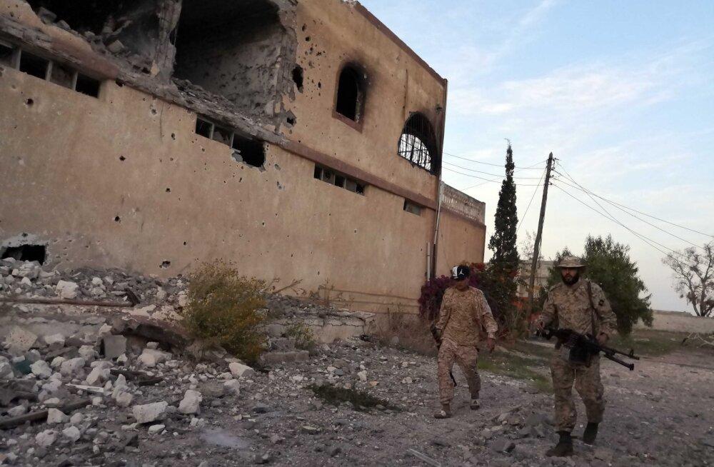 Liibüa kodusõja osapooltel õnnestus saavutada vaevu püsiv relvarahu