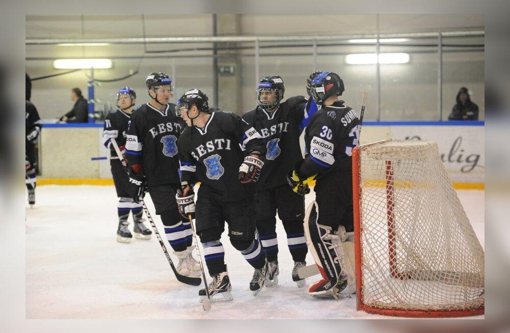 Eesti hokikoondis valmistumas MM-turniiriks, jäähoki