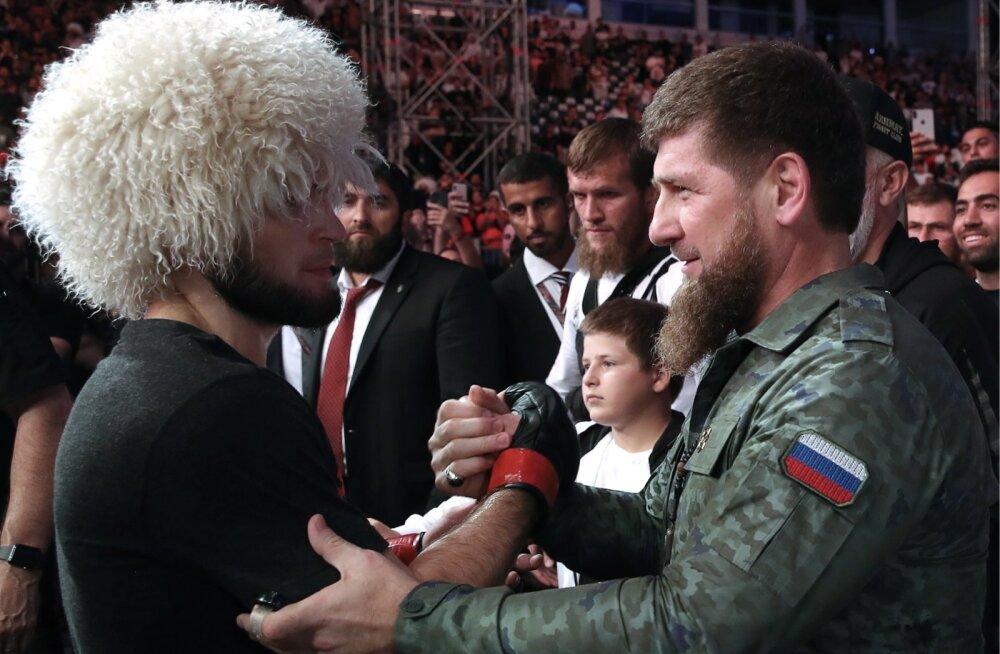 Septembris Abu Dhabis tiitlit kaitsnud Habib Nurmagomedov sai võidu jrel õnnitlusi ka Ramzan Kadõrovilt.
