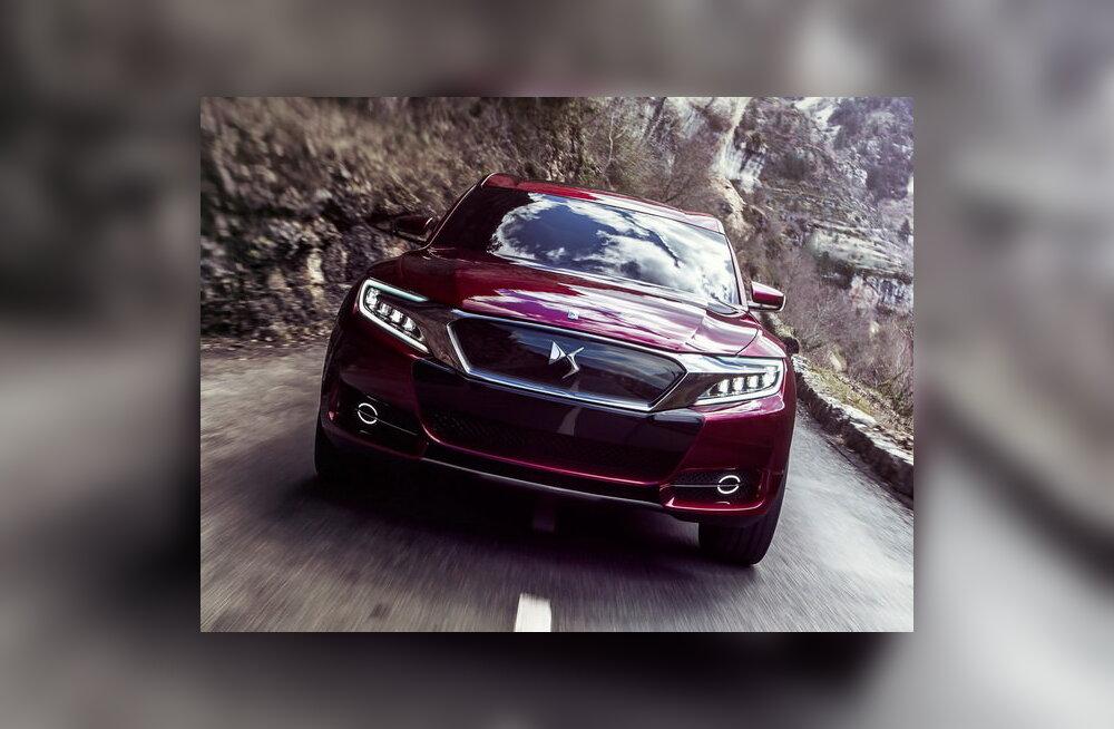 Lekkisid esimesed fotod uuest Citroëni ideeautost