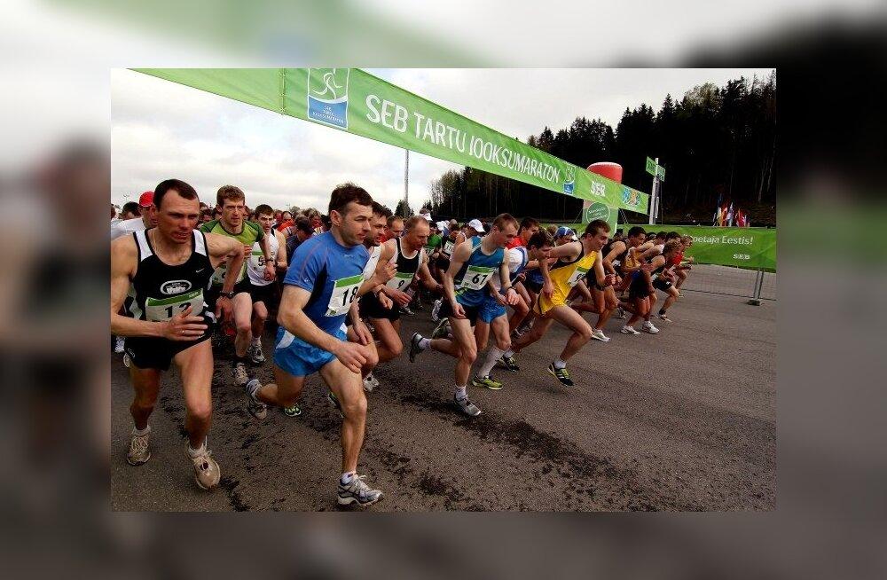 VIDEO: SEB 31. Tartu Jooksumaratonil rekordarv osalejaid