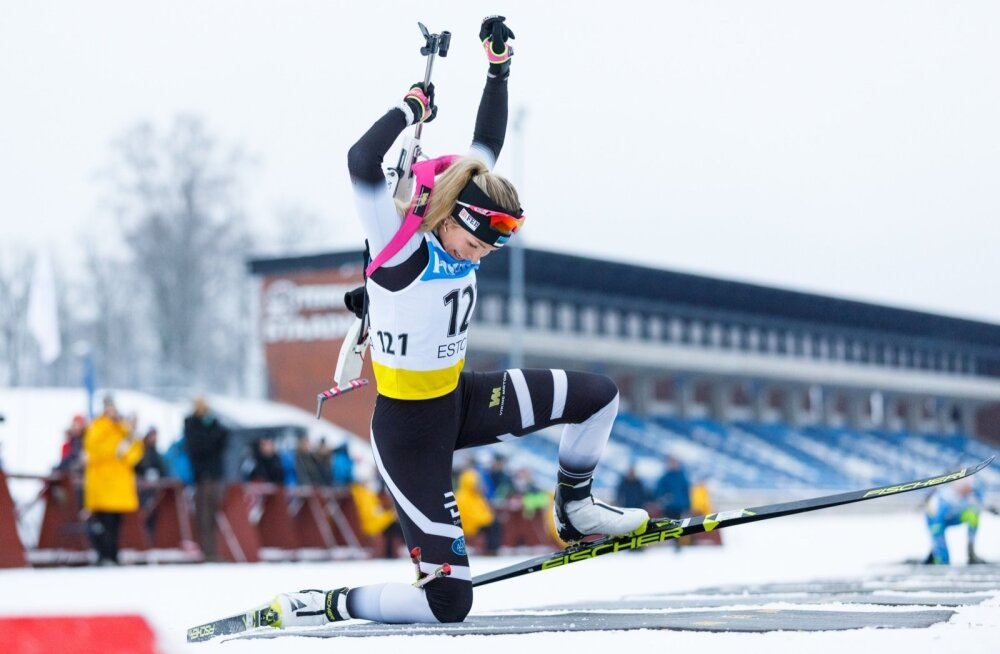 Regina Oja võitis kuldmedali kahel päeval järjest.