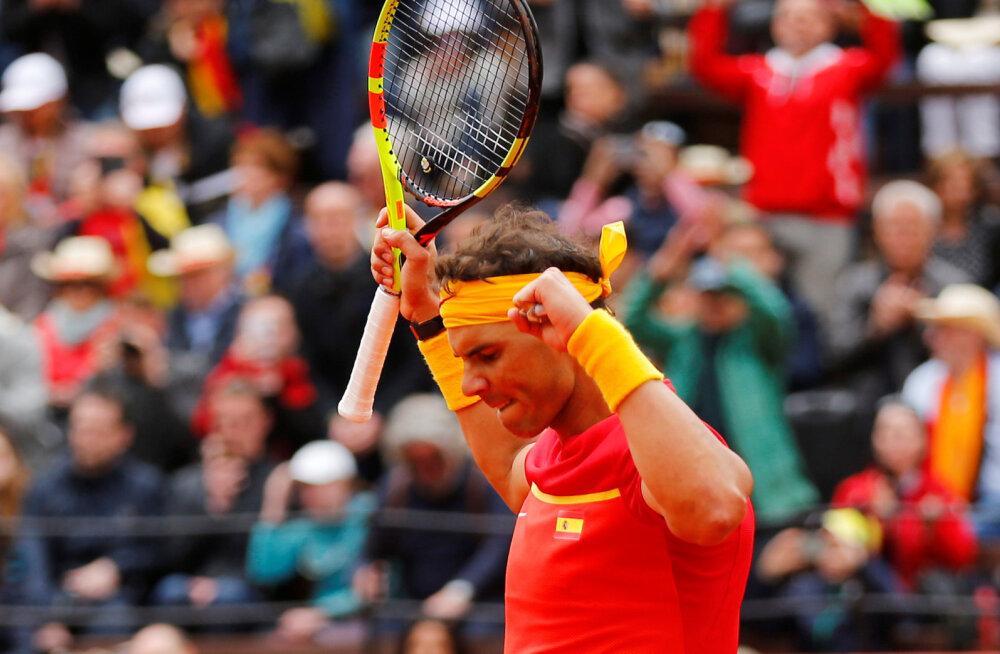 Nadal alistas Djokovici ja pääses Roomas finaali
