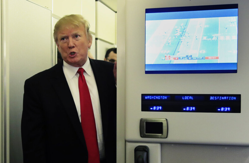 Valge Maja sõnab, et Trumpi kurikuulus oranž päevitus tuleneb headest geenidest