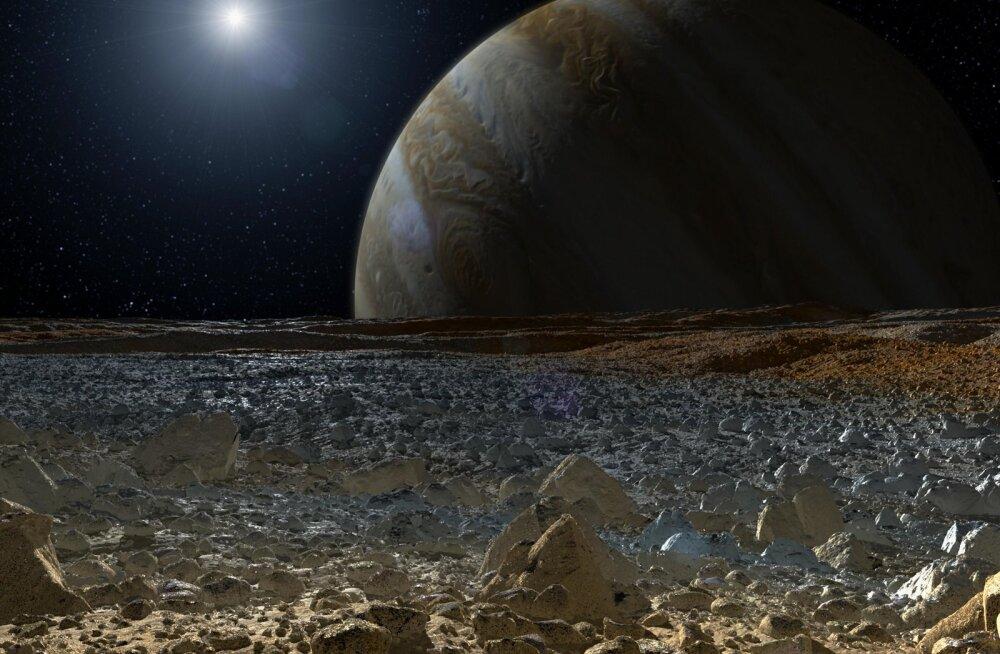 Kas Europa pinnal tõesti on elu? NASA läheb lõpuks lähemalt vaatama