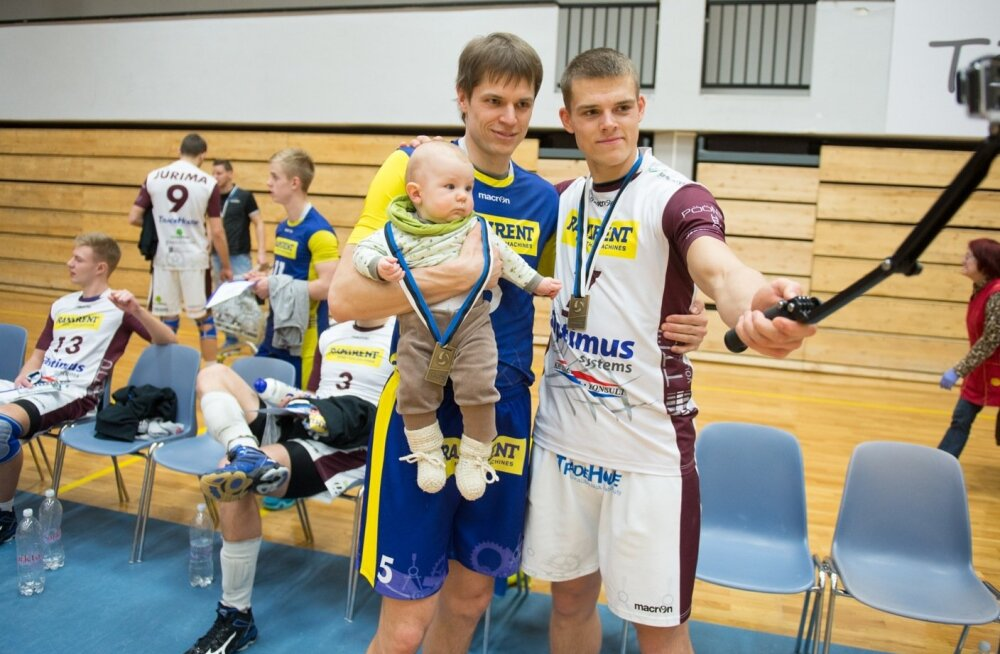 Eesti võrkpallimeistrivõistluste  pronksimäng TTÜ,  Tallinna Selver
