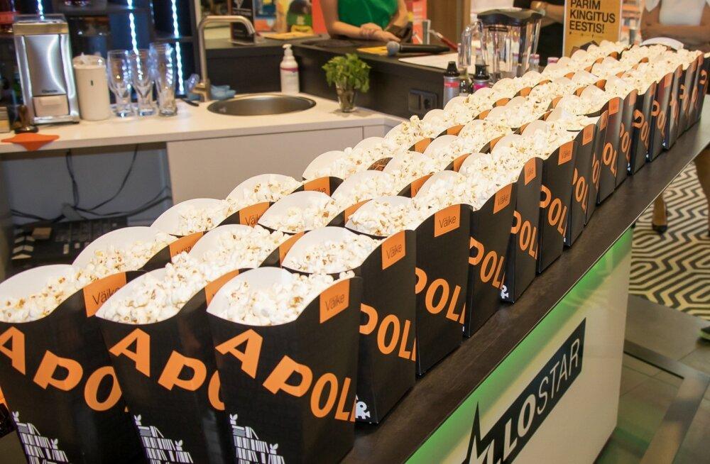 Kinos söödava toidu hulk pigem suureneb, kui et kahaneb.