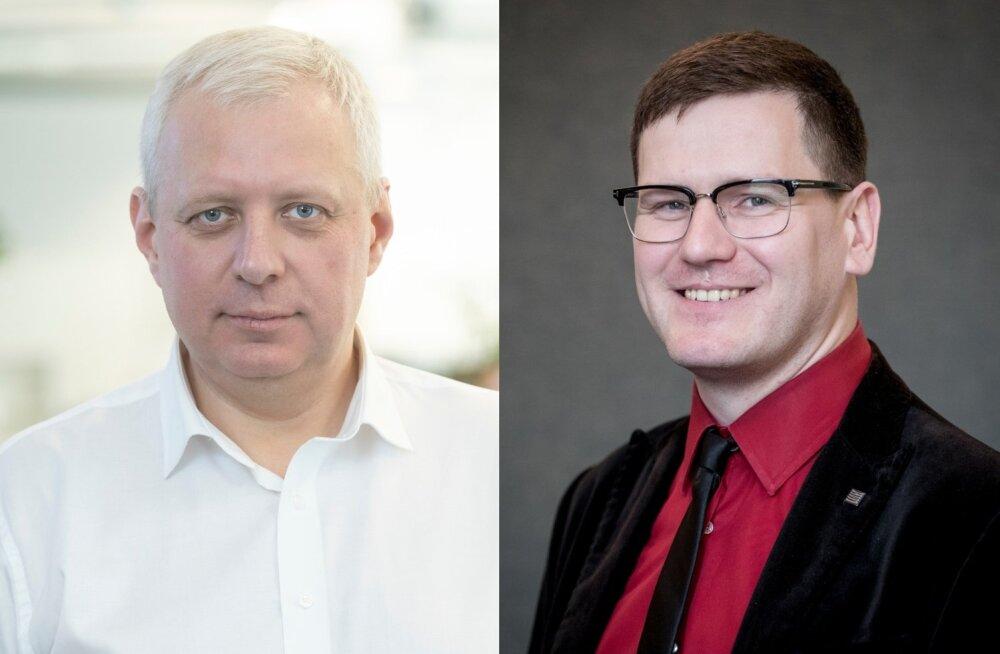 Urmo Soonvald ja Peeter Helme