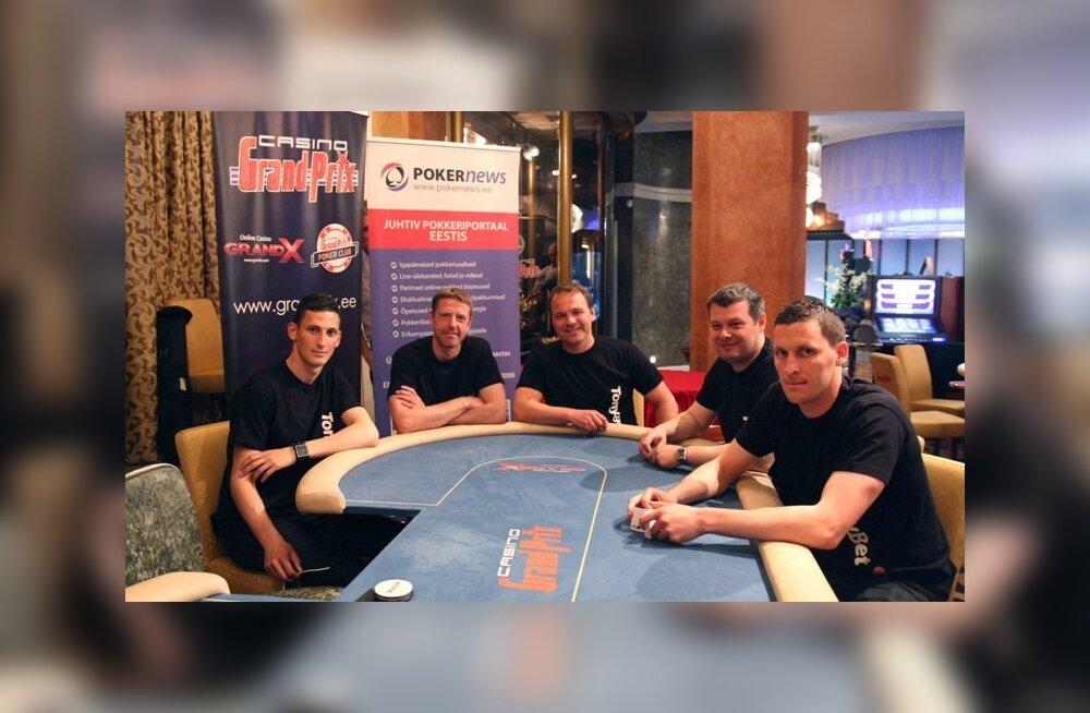 Levadia mängijad pokkeriturniiril
