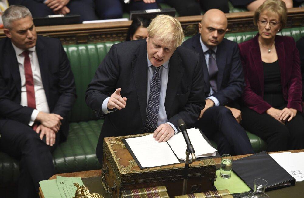 Johnson tahab uut parlamendihääletust oma Brexiti-kokkuleppe üle